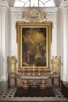Altar Verkündigung an Maria