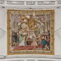 Leopold v. Habsburg übergibt Banner dem Probst des St. Ursenstiftes