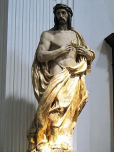 Statue<br />Herz-Jesu
