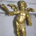 Engel mit<br />Schlag-<br />instrument